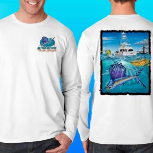 Better Off Wet Offshore Sail Performance Shirt